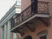 Wrought Iron Exterior Handrails,  Houston,  TX
