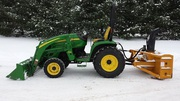 2008 John Deere 3320 loader snowblower 4wd
