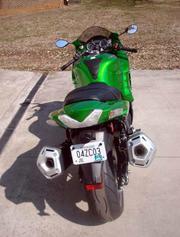 2012 Kawasaki ZX14. 419 miles on it...