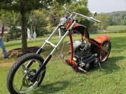 Harley-davidson Softail Custom Biuld Chopper