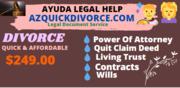 Affordable divorce document preparation servicer